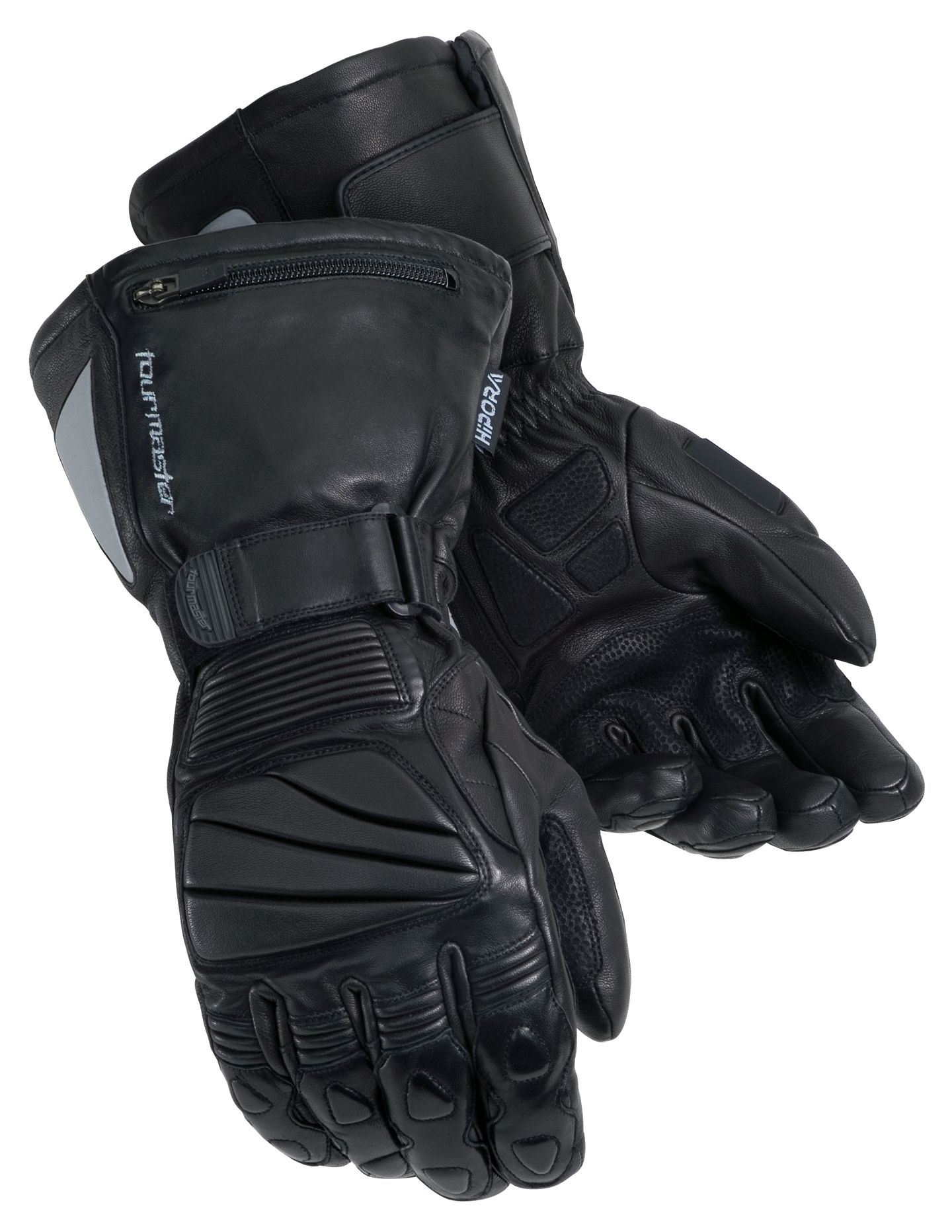 Insulated leather motorcycle gloves - Insulated Leather Motorcycle Gloves 9