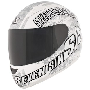Speed and Strength SS1500 Seven Sins Helmet (Size SM Only)