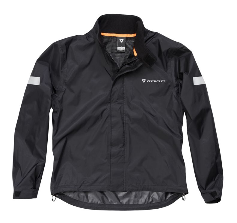 Rev 39 it cyclone h2o rain jacket revzilla for Motor cycle rain gear