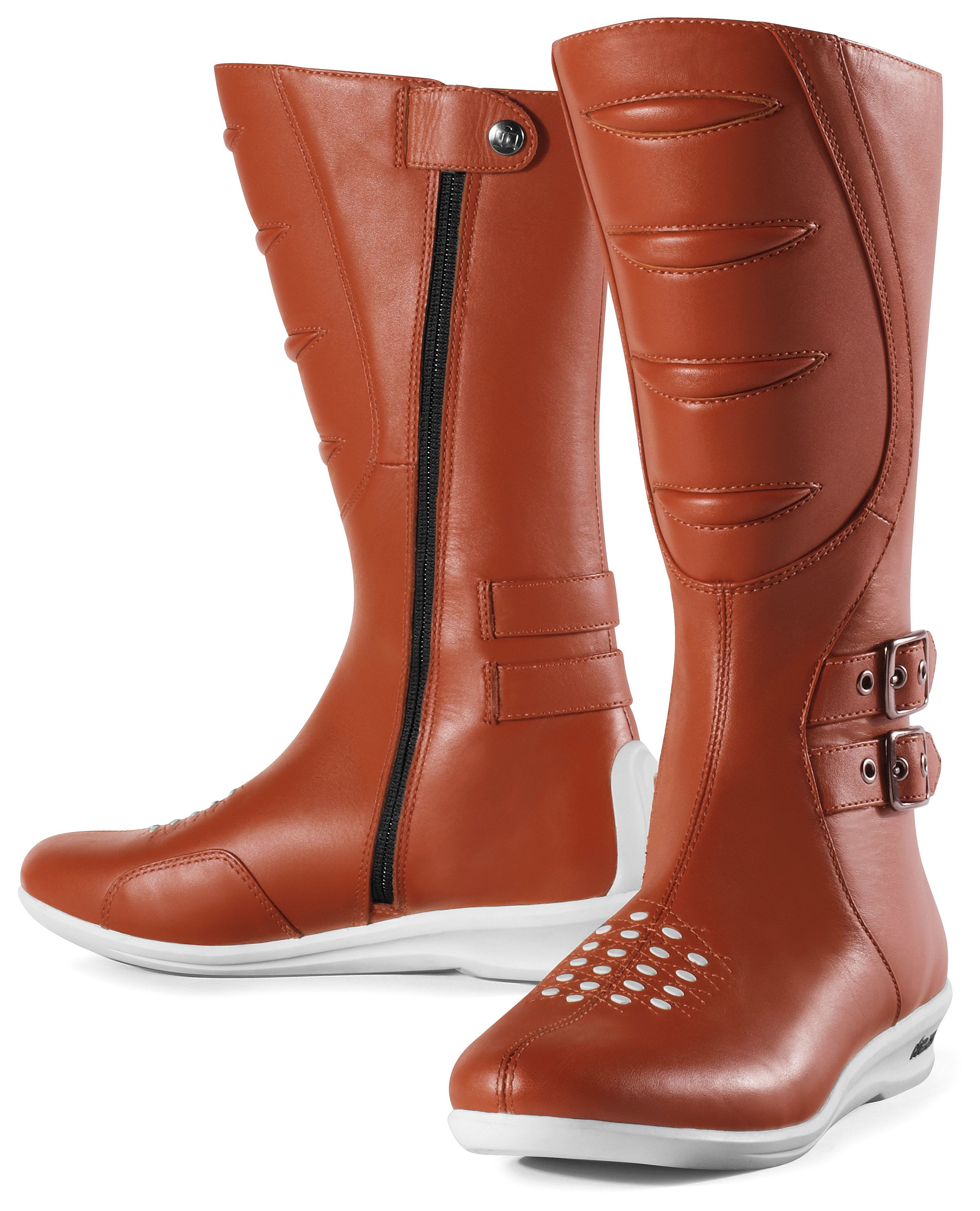Icon Sacred Tall Women's Boots (Size 7.5 Only) - RevZilla