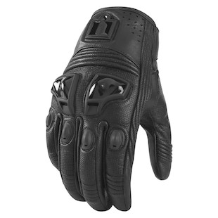 Icon Women's Justice Leather Gloves (Size XS Only)