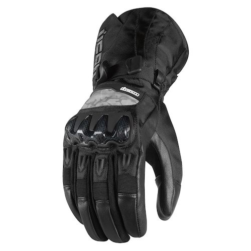 Icon Patrol Waterproof Gloves Revzilla