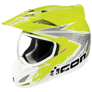 Icon Variant Salvo Hi-Viz Helmet