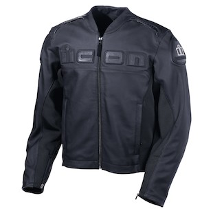 Icon Accelerant Leather Jacket