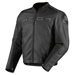 Icon Accelerant Perforated Leather Jacket