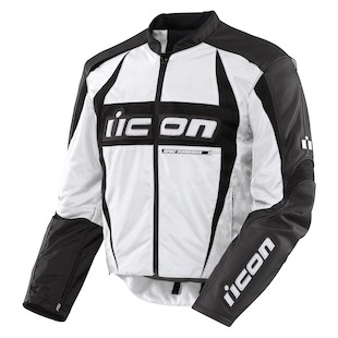 Icon Arc Textile Jacket (White / SM)