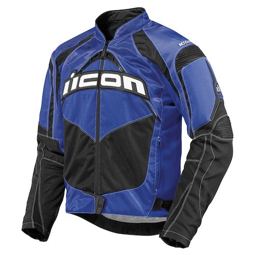 Find XL Blue ICON Jackets at J&P Cycles, your source for aftermarket motorcycle parts and accessories.