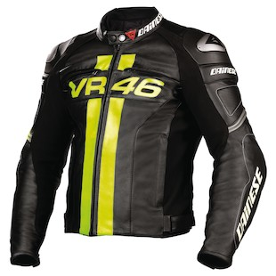 Dainese VR46 Leather Jacket (Size 54)