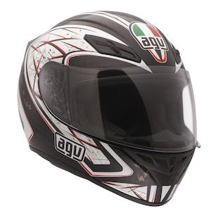AGV K4 EVO Sliver Helmet