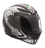 AGV K4 EVO Sliver Helmet (size XS)