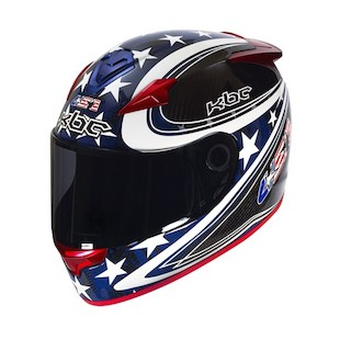 KBC VR4R US Olympic Replica Carbon Helmet