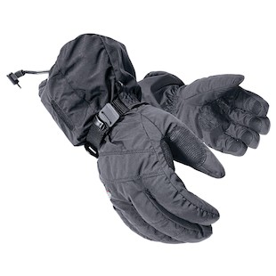 Mobile Warming Textile Heated Gloves