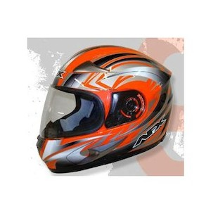 AFX FX-90 Multi Helmet (Orange / XS)