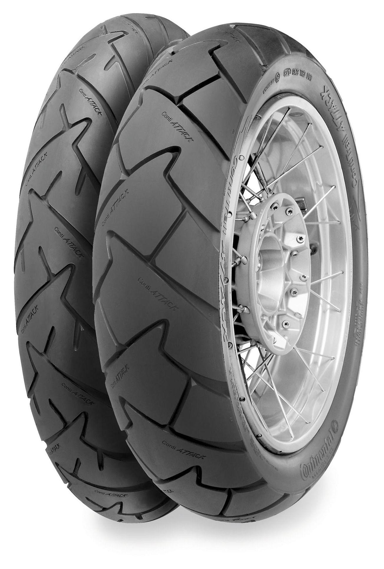 continental trail attack dual sport rear tire revzilla. Black Bedroom Furniture Sets. Home Design Ideas