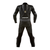 Dainese Laguna Seca Pro Non-Perforated Leather Suit - Black/Magnesium