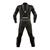 Dainese Laguna Seca Pro Non-Perforated Leather Suit - Black/Magnesium