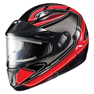 HJC CL-Max 2 Zader Snow Helmet - Electric Shield