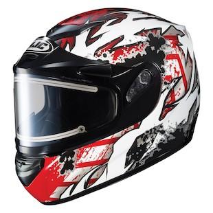 HJC CS-R2 Skarr Snow Helmet - Electric Shield