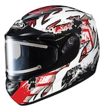 HJC CS-R2 Skarr Snow Helmet - Electric Shield