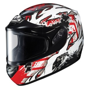 HJC CS-R2 Skarr Snow Helmet - Dual Lens