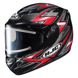 HJC CS-R2 Thunder Snow Helmet - Electric Shield