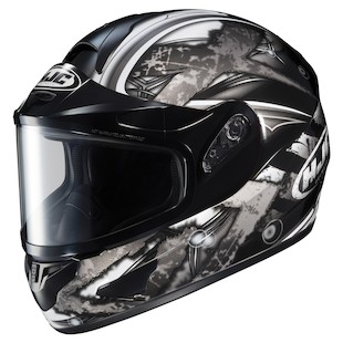 HJC CL-16 Shock Snow Helmet - Dual Lens