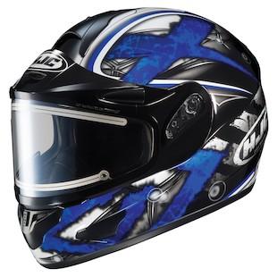 HJC CL-16 Shock Snow Helmet - Electric Shield