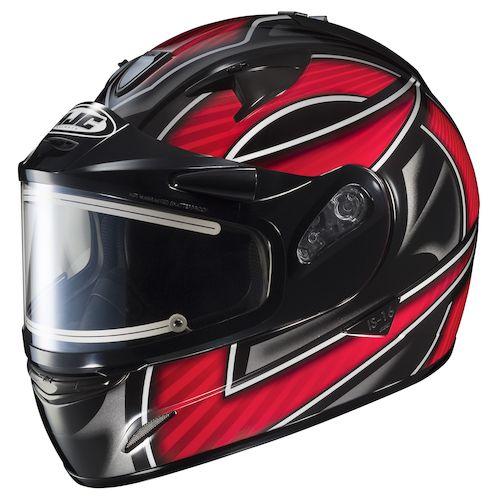 hjc is 16 ramper snow helmet electric shield revzilla. Black Bedroom Furniture Sets. Home Design Ideas