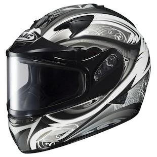 HJC IS-16 Lash Snow Helmet - Dual Lens