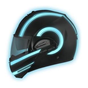 Shark Evoline 2 ST Moovit Lumi Helmet