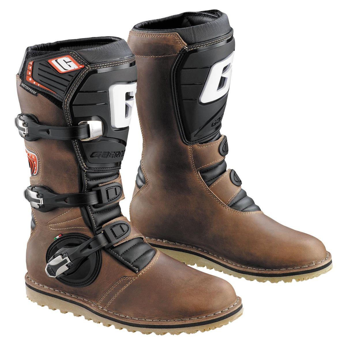 GAERNE BALANCE OILED Brown Leather Waterproof Boots Sz EU44