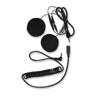 Motocomm Thumper Enhanced-Bass Helmet Speakers