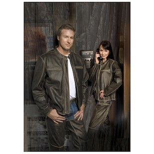 River Road Women's Vintage Drifter Distressed Leather Jacket