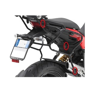 Givi PLXR312 Rapid Release Side Case Racks Ducati Multistrada 1200/S 10-2012