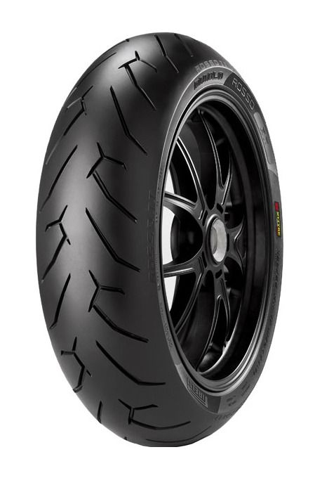 pirelli diablo rosso ii rear tires revzilla. Black Bedroom Furniture Sets. Home Design Ideas