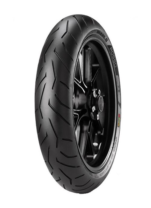 pirelli diablo rosso ii front tires 24 off revzilla. Black Bedroom Furniture Sets. Home Design Ideas