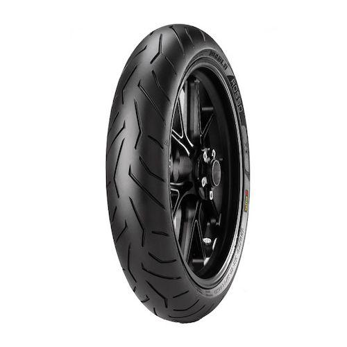 pirelli diablo rosso ii front tires revzilla. Black Bedroom Furniture Sets. Home Design Ideas
