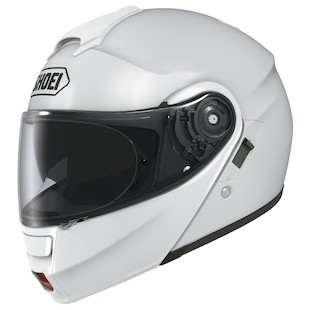 Shoei Neotec Modular Helmet (Color: White / Size: SM)