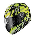 Scorpion EXO-500 Oil Neon Helmet
