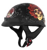 River Road Grateful Dead Skulls & Roses Helmet - Color