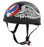 River Road Grateful Dead Flying Steal Your Face Helmet
