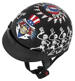 River Road Grateful Dead Dancing Skeletons Helmet