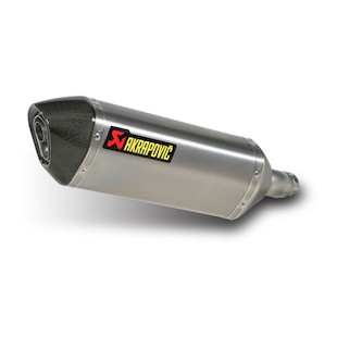 Akrapovic Slip-On Exhaust Kawasaki Ninja 250R 2008-2012