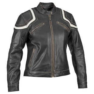 River Road Women's Babe Vintage Leather Jacket