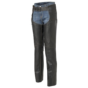 River Road Vintage Women's Leather Chaps
