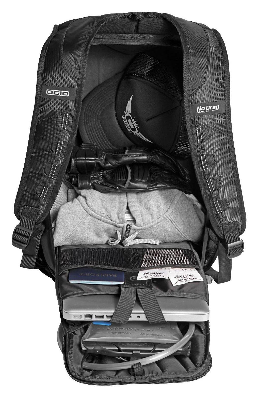 OGIO No Drag Mach 1 Backpack - RevZilla 982b78554c57f