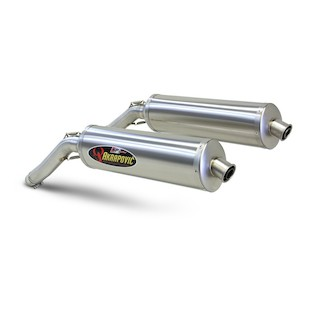 Akrapovic Slip-On Exhaust Suzuki V-Strom 1000 2002-2009