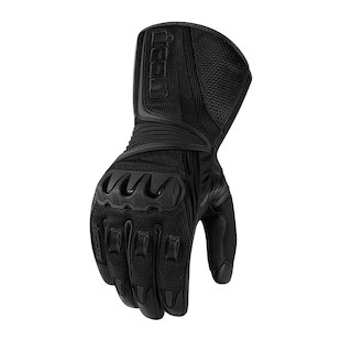 Icon Compound Mesh Long Gloves (Color: Black / Size: MD)