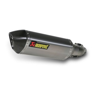 Akrapovic Slip-On Exhaust Suzuki GSX-R600 / 750 2011-2012