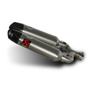 Akrapovic Slip-On Exhaust Aprilia Shiver 750 2008-2009